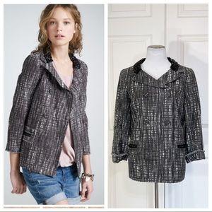J. Crew Collection Tweed contessa coat